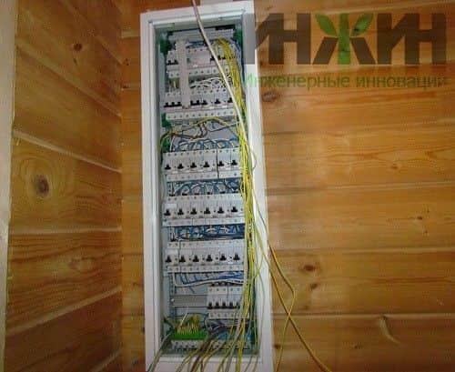 Электрика в доме под ключ стоимость московская область