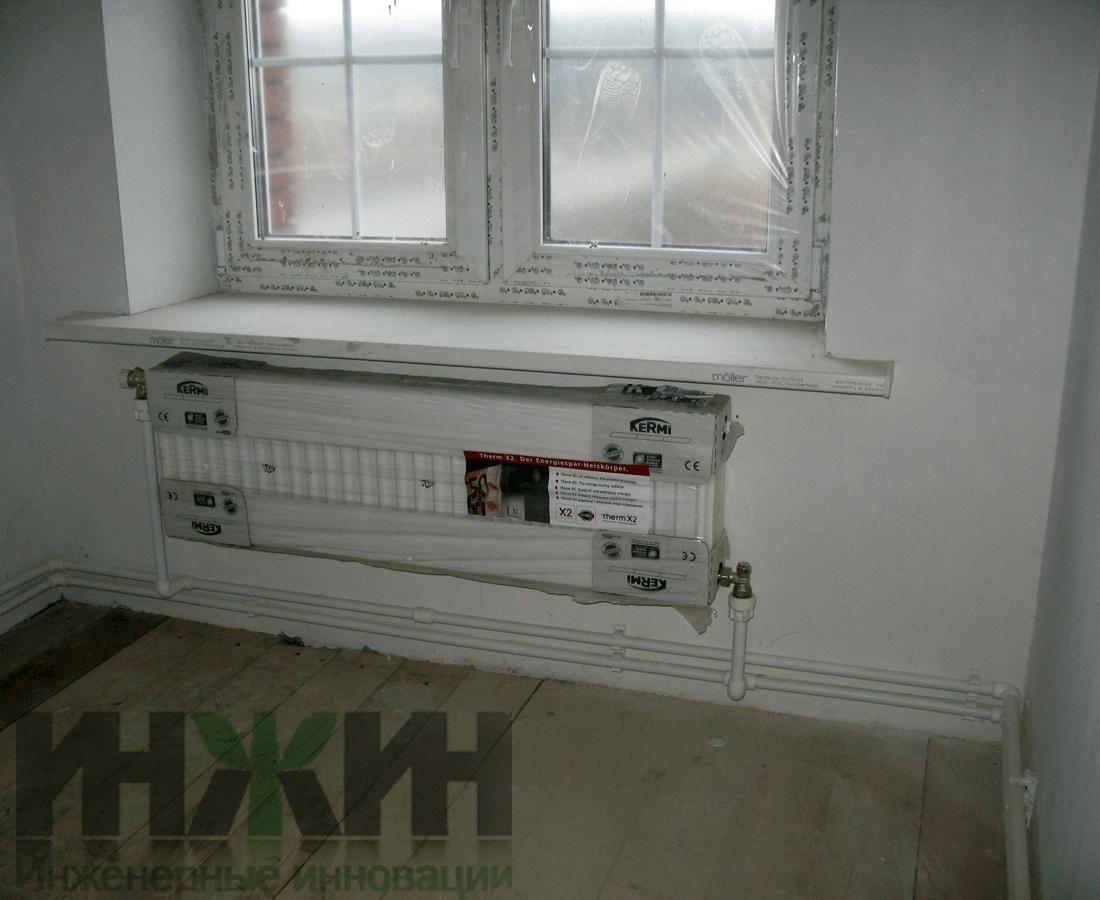 Система горячего водоснабжения в многоквартирном доме