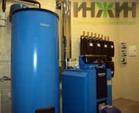 Монтаж котельной и отопления частного дома пример