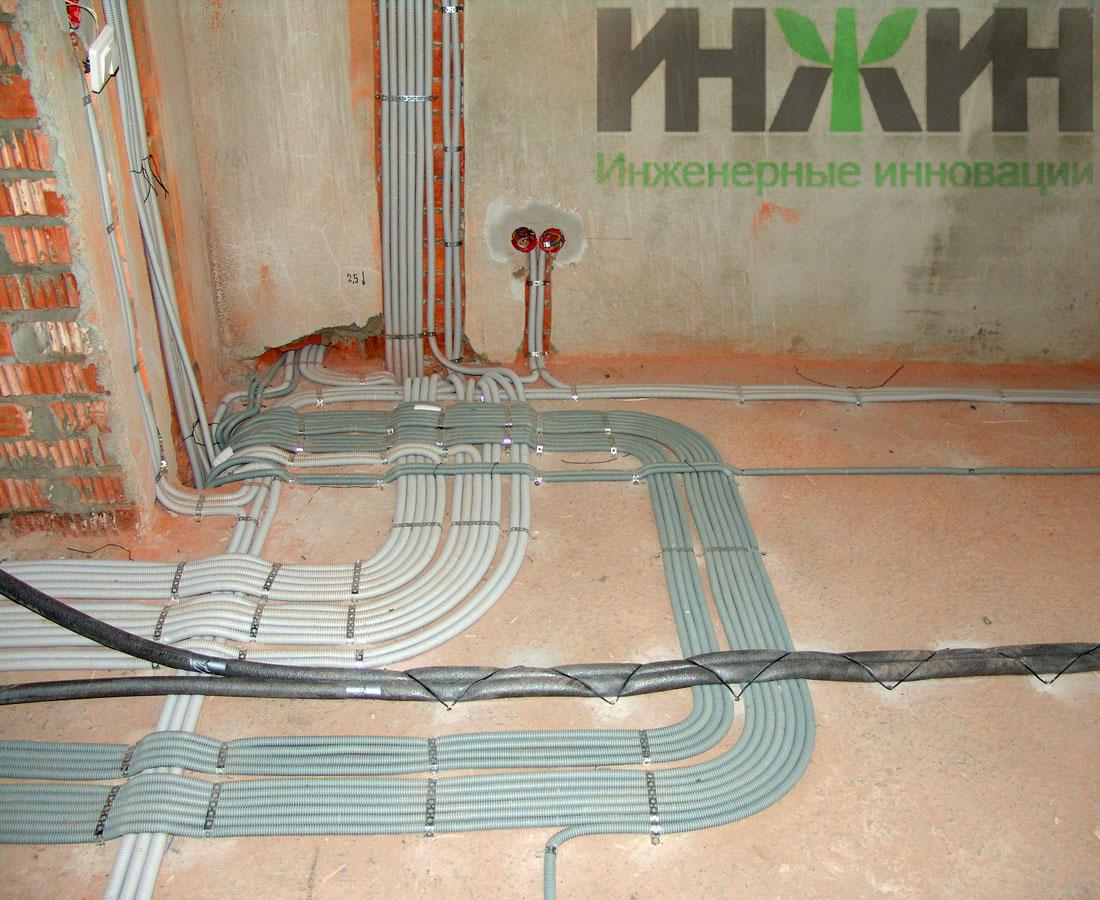 Дом монтаж электрик