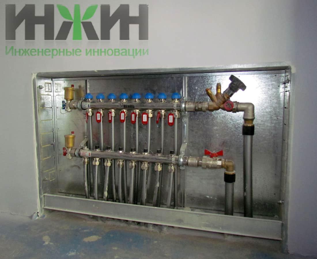 Водоснабжение и водоотведение жилого дома