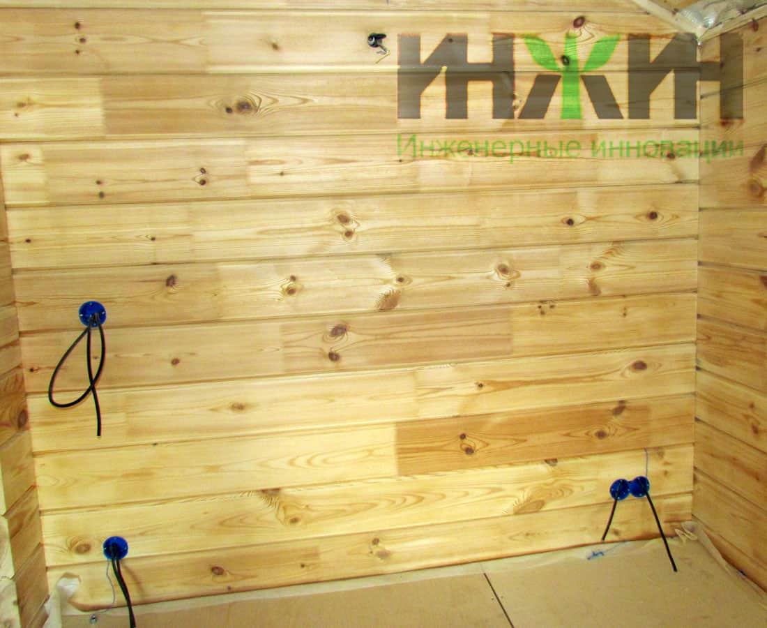 Монтаж электрики в деревянном доме красноярск