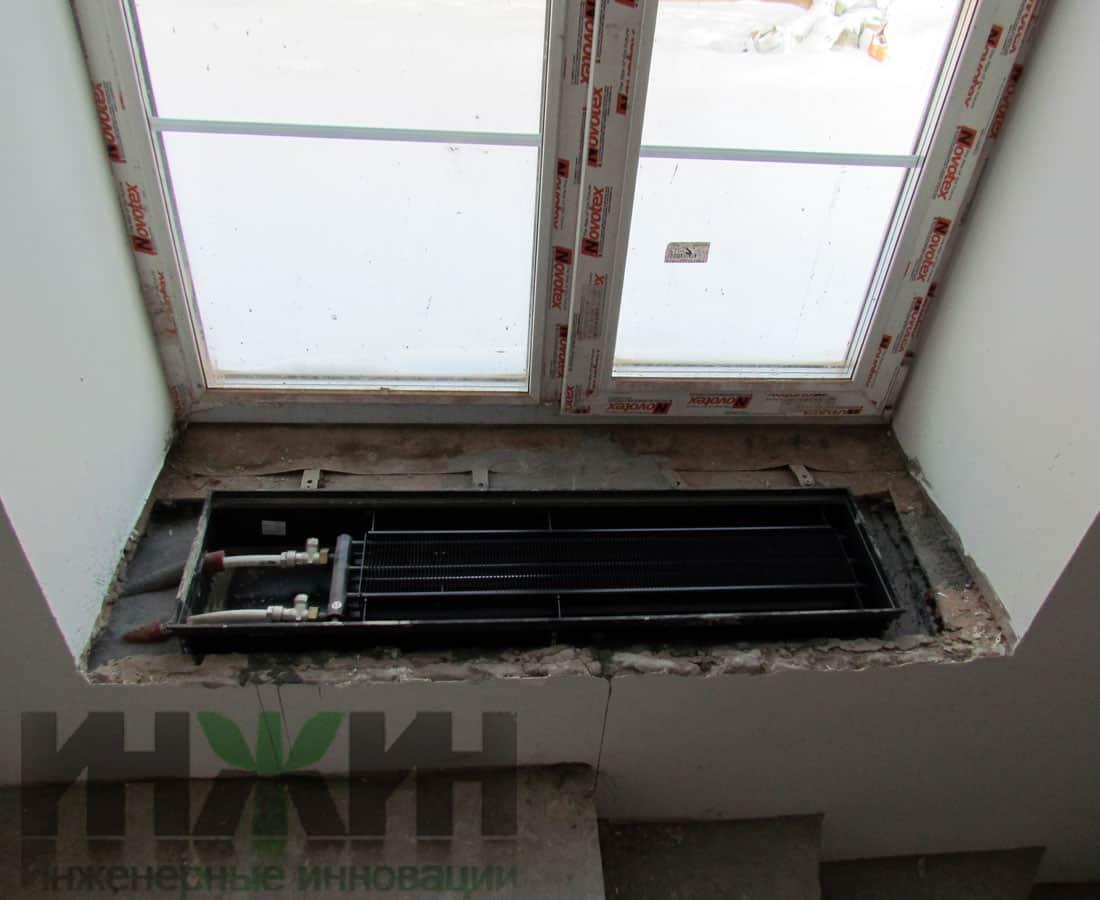 Отопление под домом