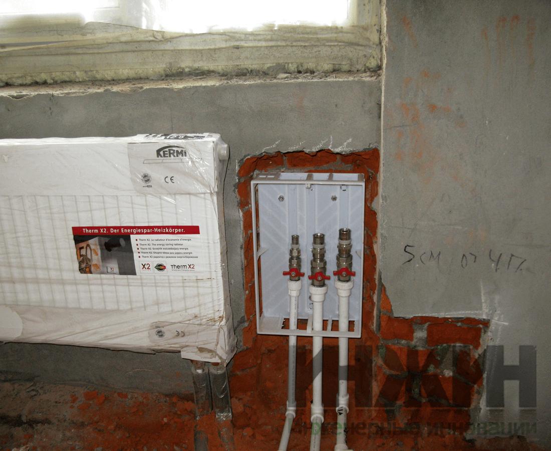 Теплый пол под водяное отопление
