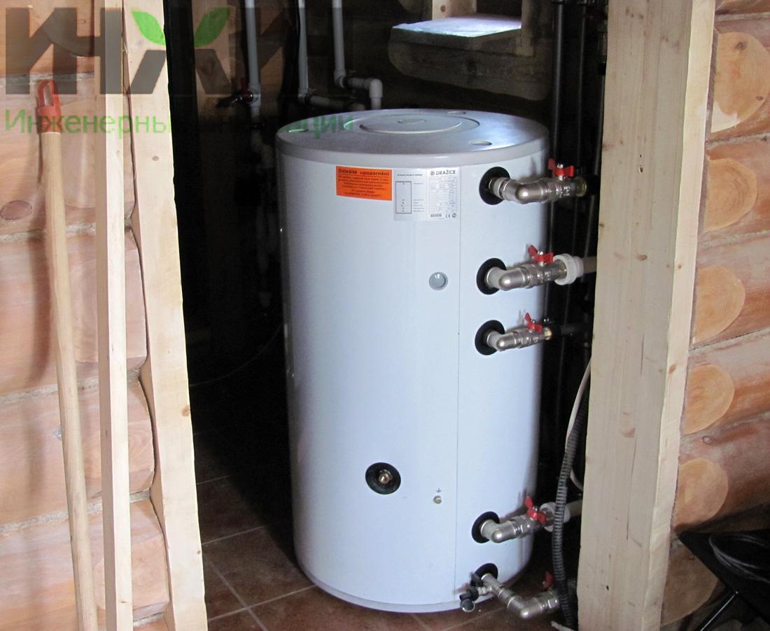 Схема отопления двухэтажного дома с газовым котлом