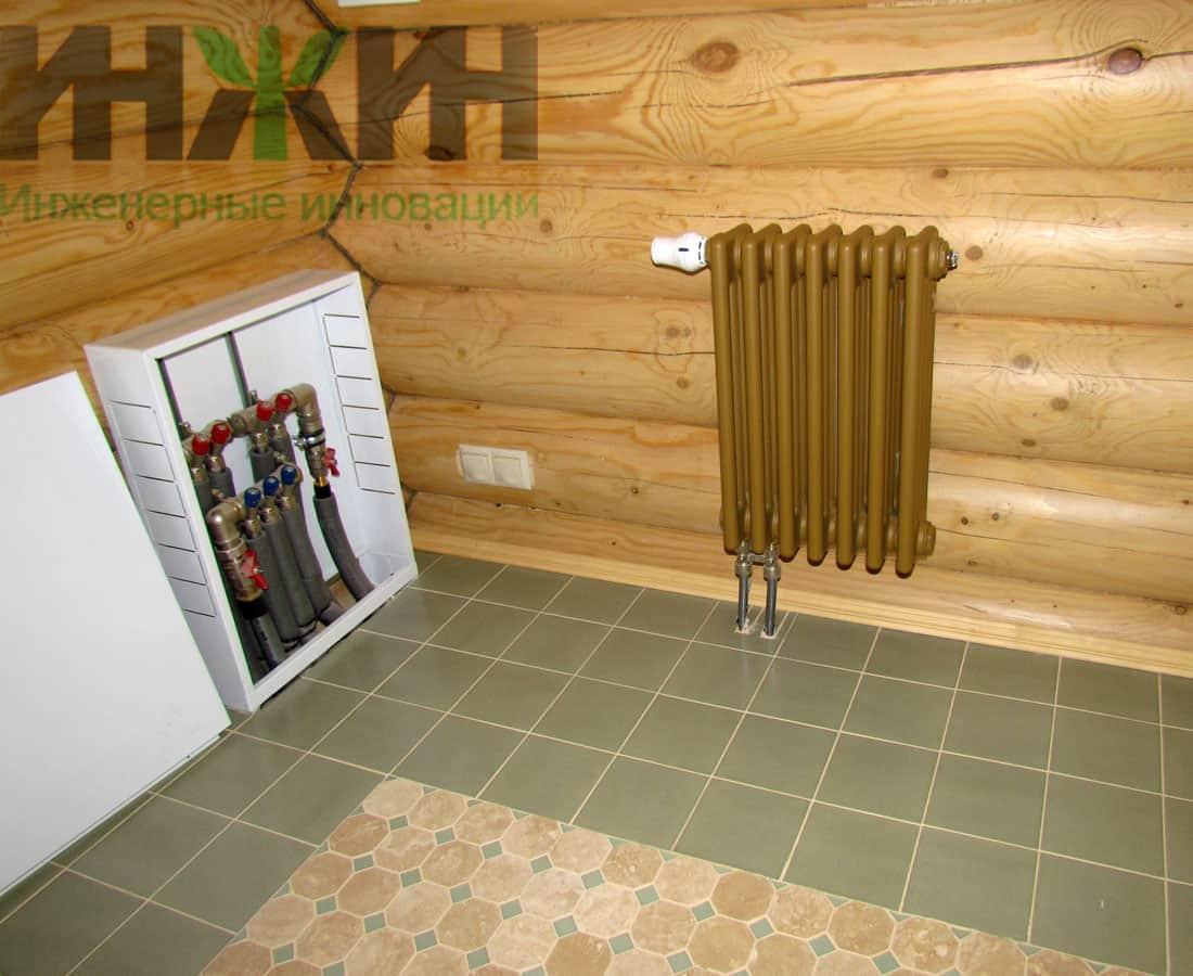 Савельев отопление дома расчет и монтаж