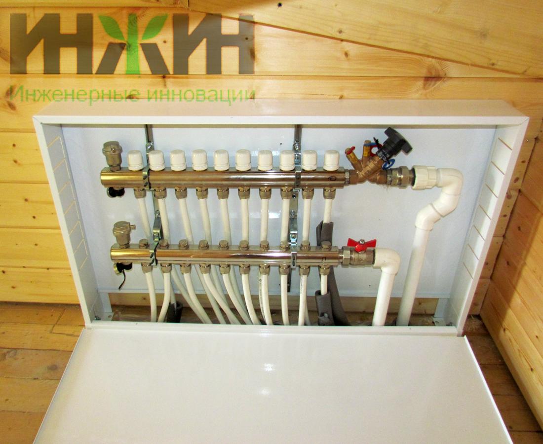 Обустройство водяного теплого пола доме