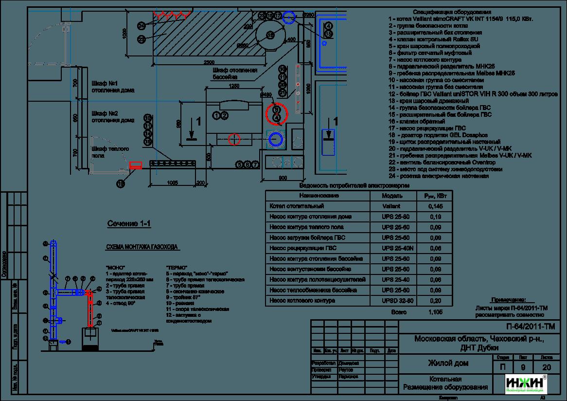внутренний водопровод загородного дома схема