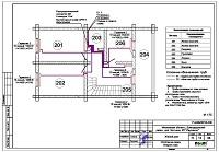 Проект отопление дома в КП «Ивушкино»
