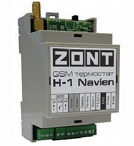 ZONT H-1 Navien - GSM термостат для газовых котлов Navien