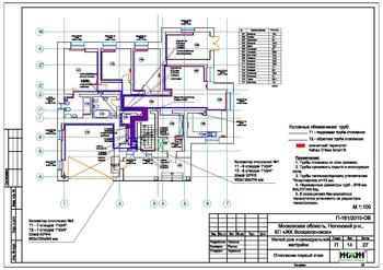 Проект отопления частного дома по 64 руб. за м.кв.